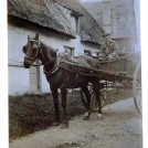 Photo:1910 - 30 Horace Bagstaff delivering bread from Parcell's Bakery Orwell